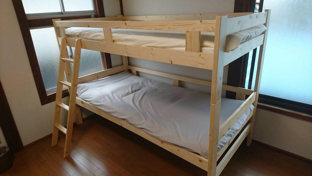 侍ゲストハウス ドミトリー ベッド